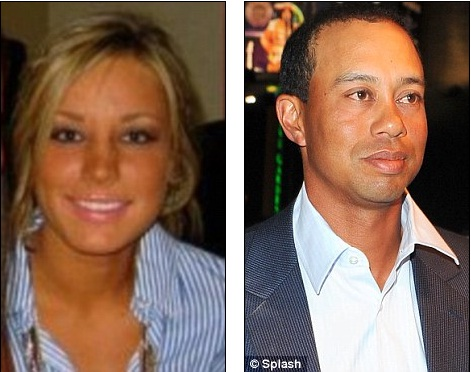 tiger woods girlfriend 22. Smitten: Woods and Johnston