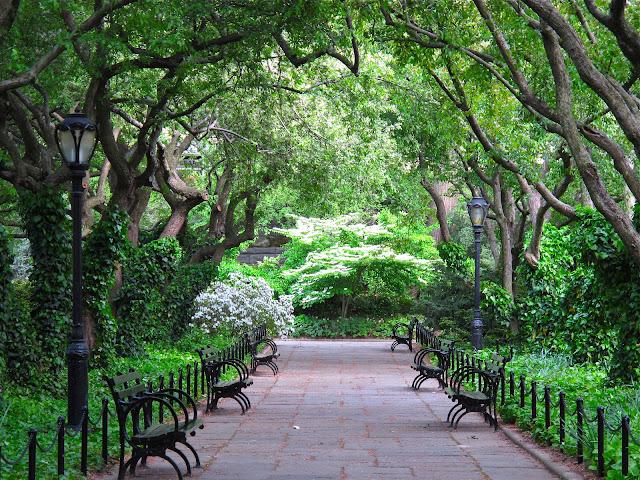 Slow Love Life Central Park Conservatory Garden