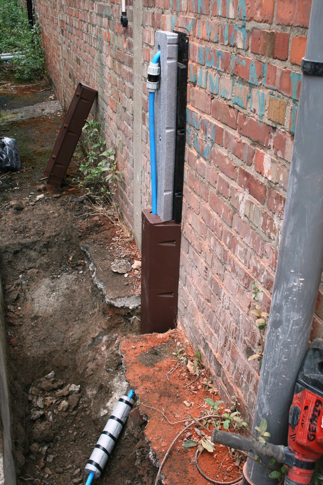 Plannet Plumbing Services Ltd New Water Main In A Factory