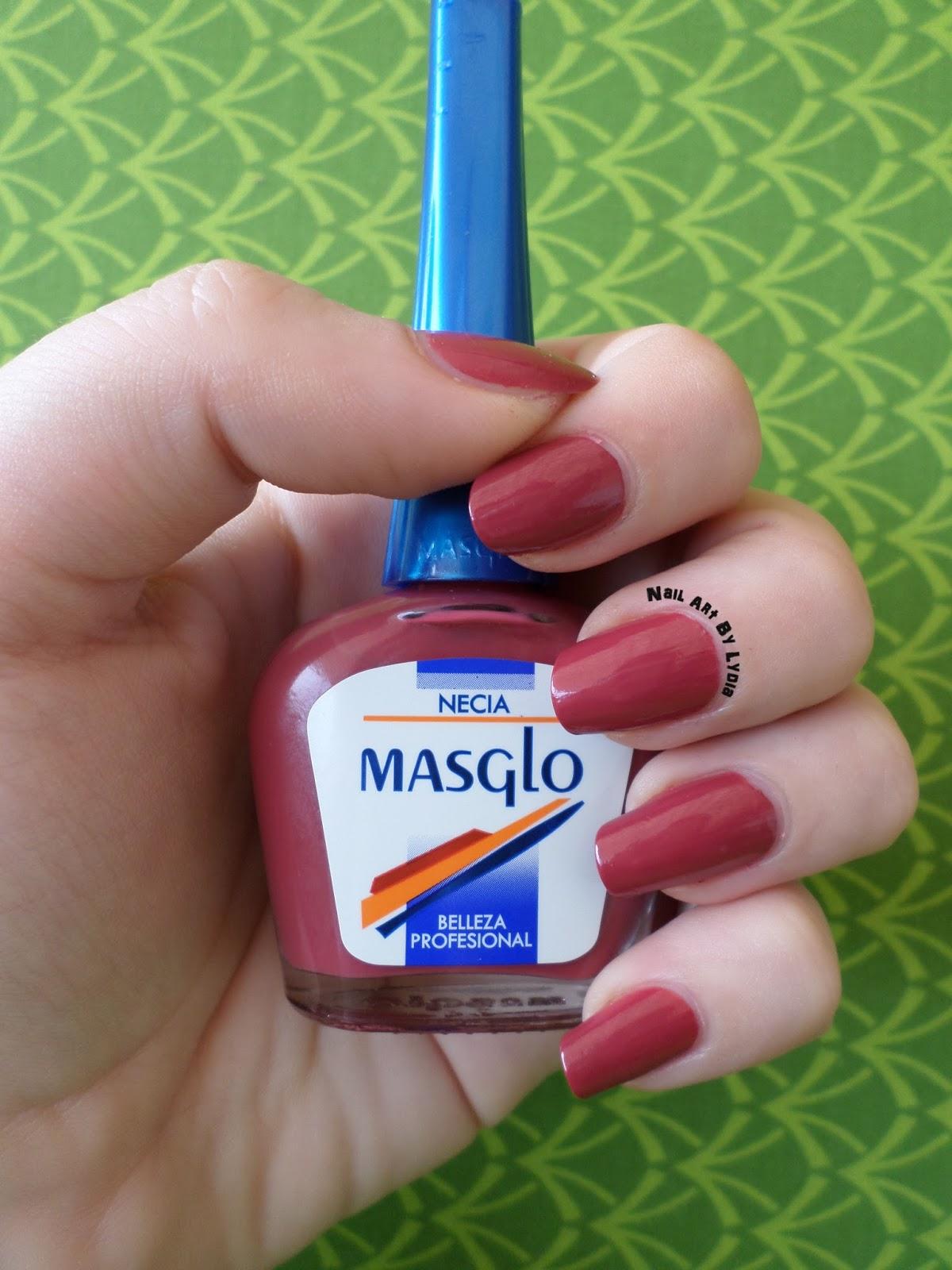 Nail Art By Lydia: Masglo y NECIA