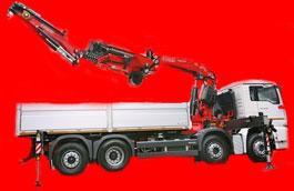 camion con gru usato