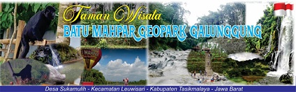 Obyek Wisata Batu Mahpar Geopark Galunggung