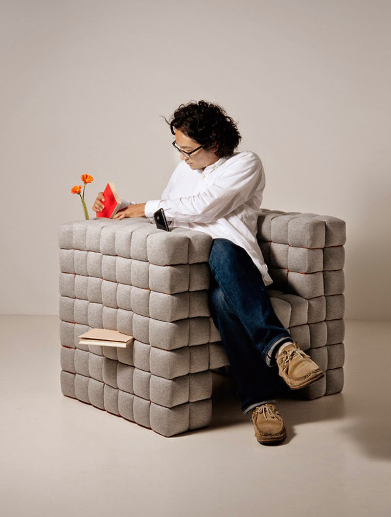 {Design} Lost in sofa by Daisuke Motogi Architecture