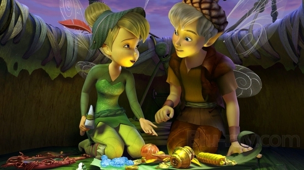 Pemain Tinker Bell And The Lost Treasure