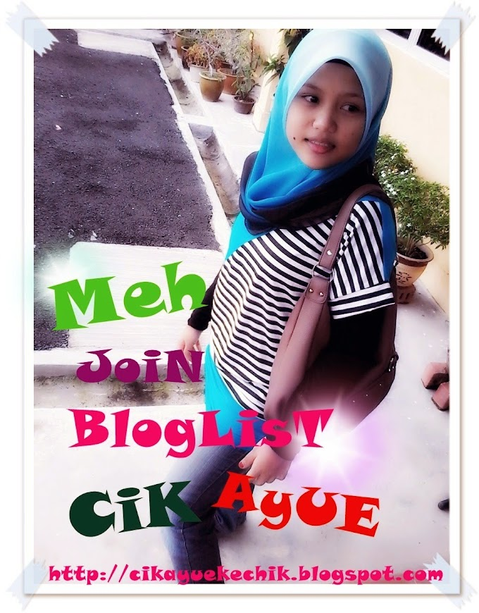 Segmen: Meh Join BlogList CikAyue
