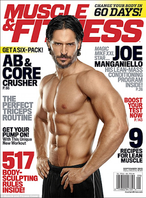 Joe Manganiello on the cover of Muscle & Fitness magazine - How real is this picture?