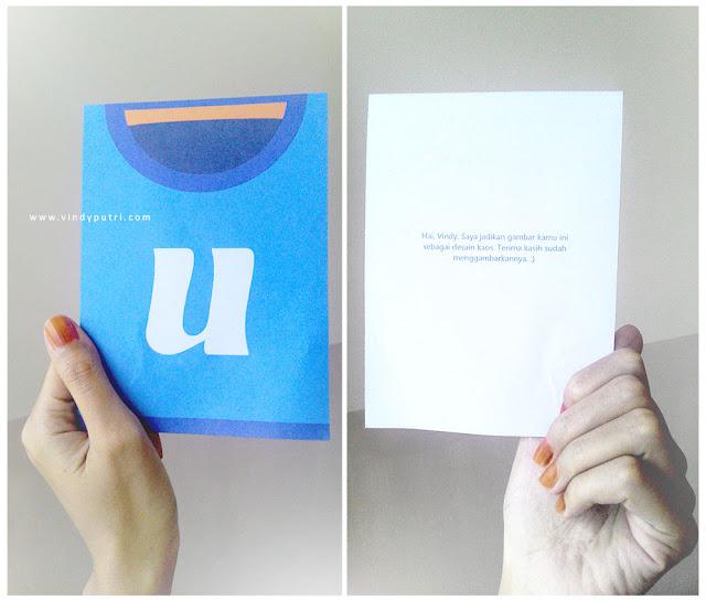 Kartu ucapan Utess.me - Vindy Putri