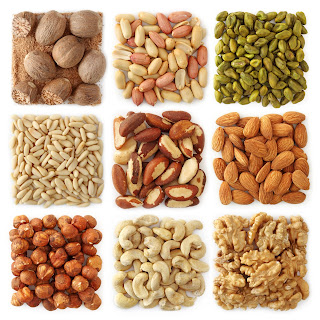 "Nuts contain natural ""good"" fats that our bodies need"