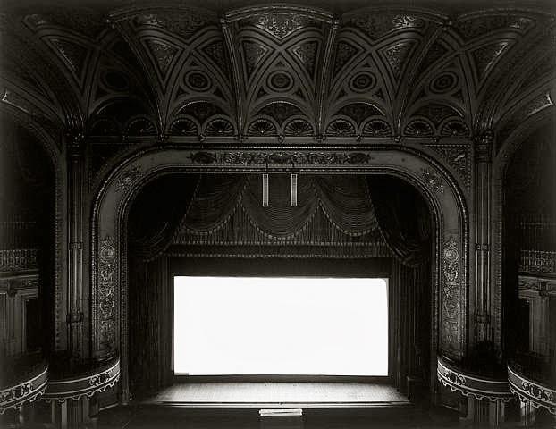 Hiroshi Sugimoto. Theaters. Photography | Fotografía