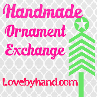http://www.lovebyhand.com/2013/11/handmade-ornament-exchange-2013.html