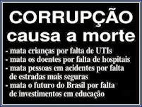 CORRUPÇÃO MATA MAIS QUE DITADURA