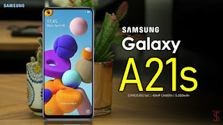 Samsung Galaxy A21S Specs, Display, Thickness, Camera, RAM, Storage & Price
