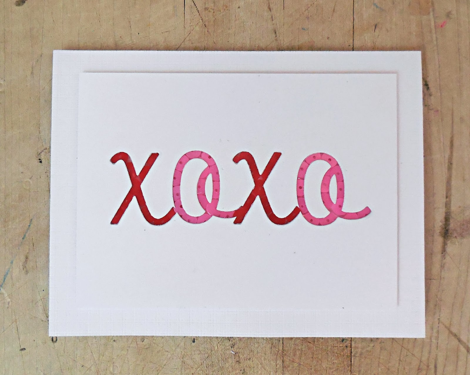 Occasional Crafting XOXO Love Letters