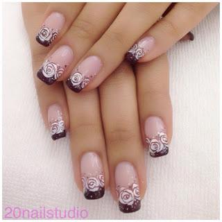 paznokcie lodz, a-paznokcie.pl, wzorki paznokci jesien 2013