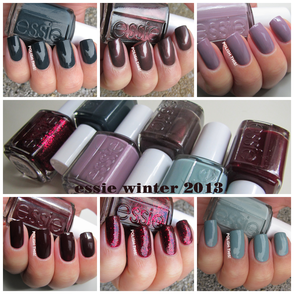 Essie Winter 2013 Collection Swatches And Review Polish This