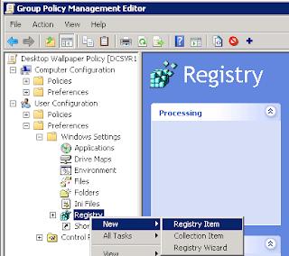 Configure Desktop Wallpaper Background using GPO