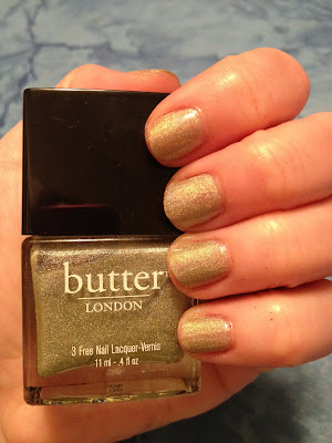 butter LONDON, butter LONDON nail polish, butter LONDON 3 Free Nail Lacquer, butter LONDON Fall 2012 Collection, butter LONDON Trustafarian, butter LONDON Trustafarian nail polish, butter LODNON Trustafarian nail lacquer, butter LONDON Trustafarian Fall 2012 Collection, nail, nails, nail polish, polish, lacquer, nail lacquer, butter LONDON mani, butter LONDON manicure, mani of the week, manicure of the week, mani, manicure