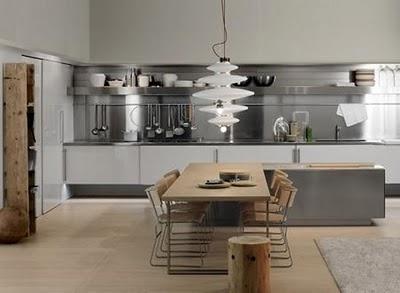 Decoraci n de interiores decoraci n cocinas color gris for Decoracion de interiores en color gris