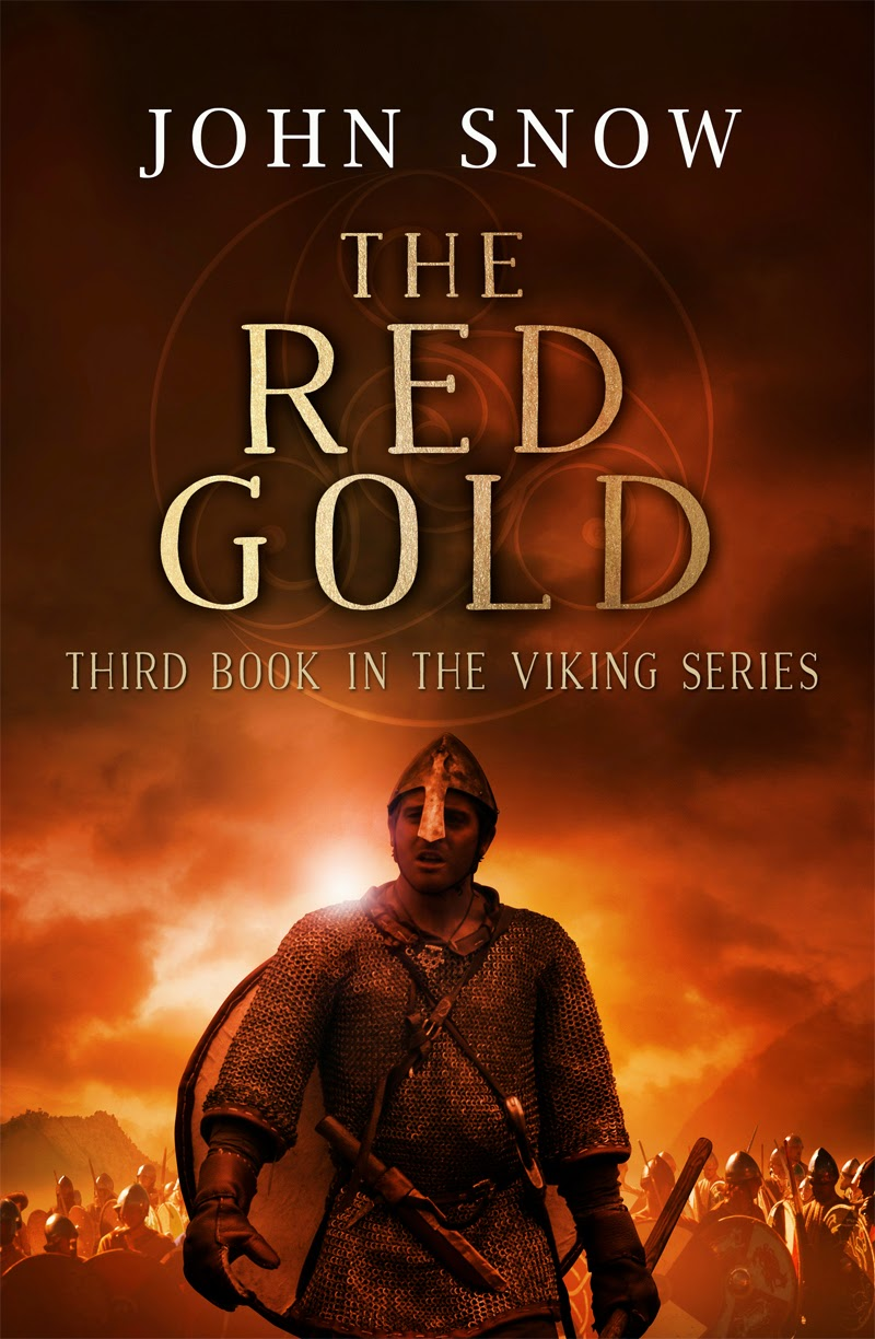 John Snow. The Red Gold. Cover Image.