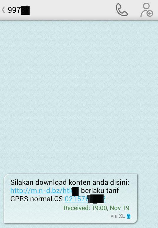 layanan sms premium