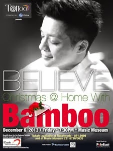 Believe: Christmas @ Home with Bamboo