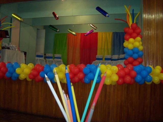 Decorações para Formatura Educação Infantil e Fundamental I