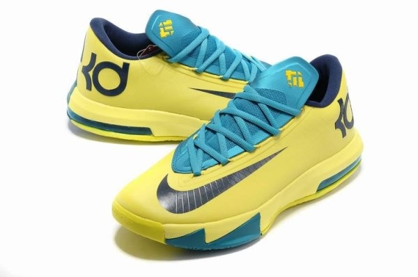 2014 Nike Zoom KD VI Kevin Durant Basketball Shoes   Blueblack