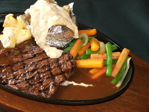 Sirloin Steak Bentuman