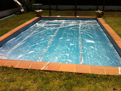 mamiusi calentar agua de la piscina casero