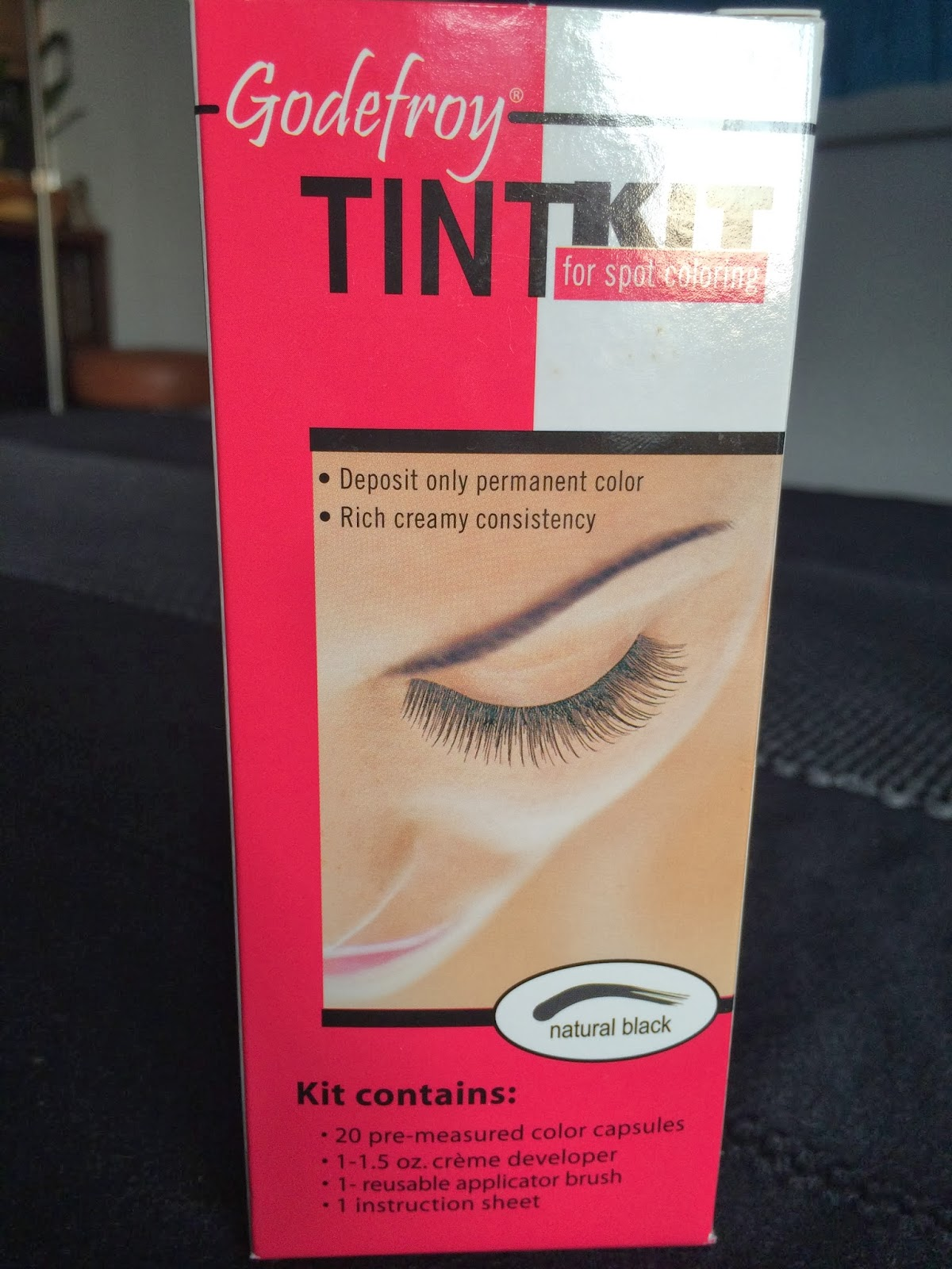 Beauty and Fashion lover: Review on Godefroy Eyebrow Tint for spot ...