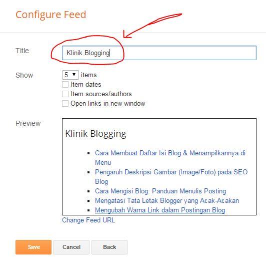 Cara Menampilkan Widget Recent Posts