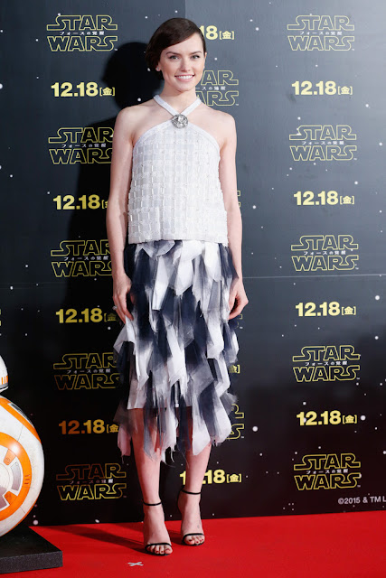 Actress, @ Daisy Ridley - 'Star Wars: The Force Awakens' fan event in Tokyo