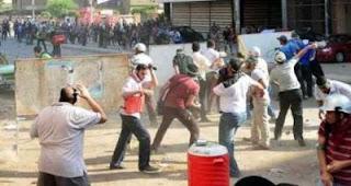 وزارة الداخلية تنشر فيديو يوضح يوضح محاولات قطع الطريق وإطلاق الخرطوش على الشرطة وإتلاف ممتلكات المواطنين