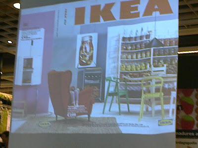 Presentación catálogo Ikea 2014 en Ikea l'Hospitalet