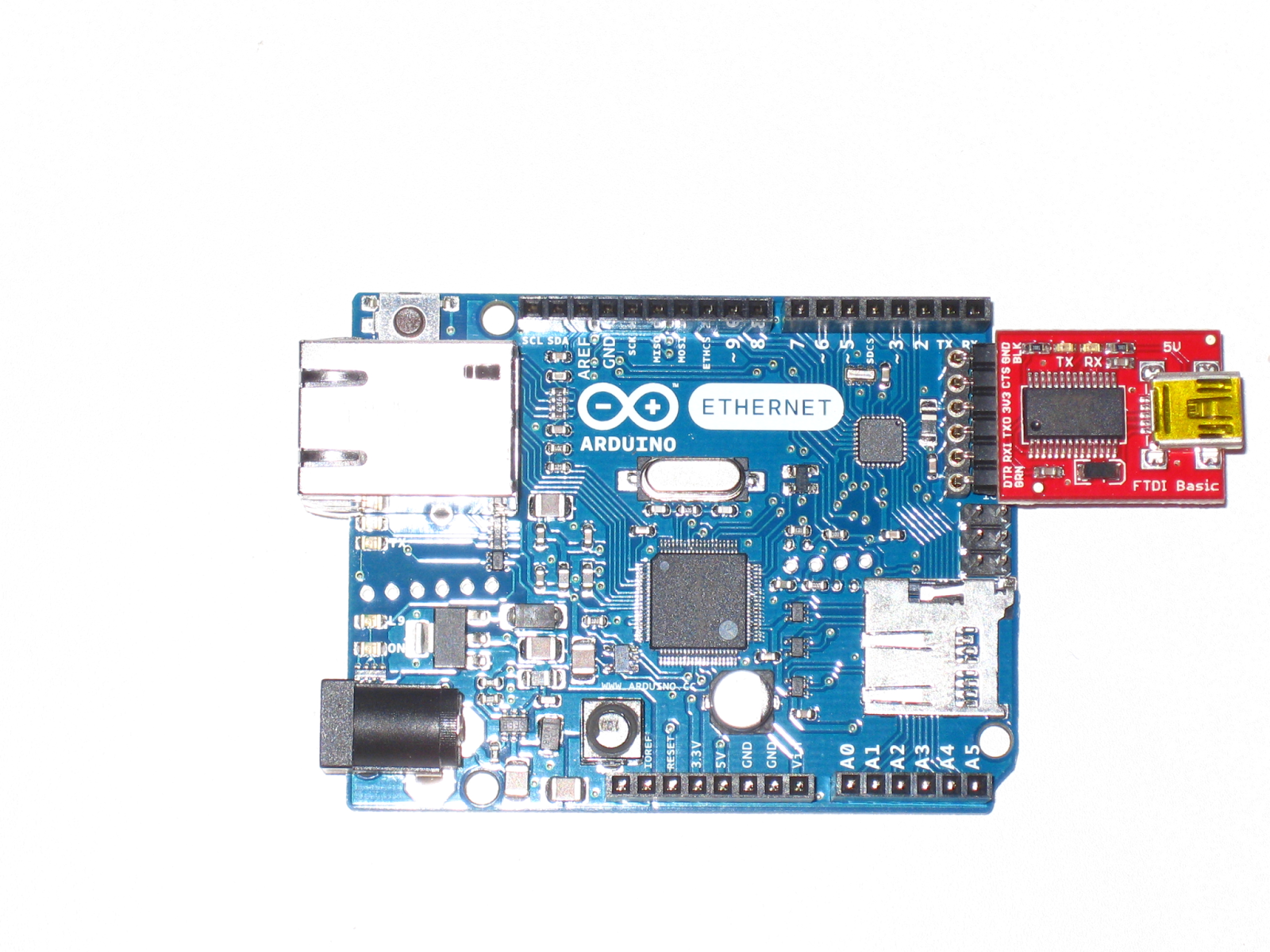 Arduino, Tft E Ethernet Shield, Non