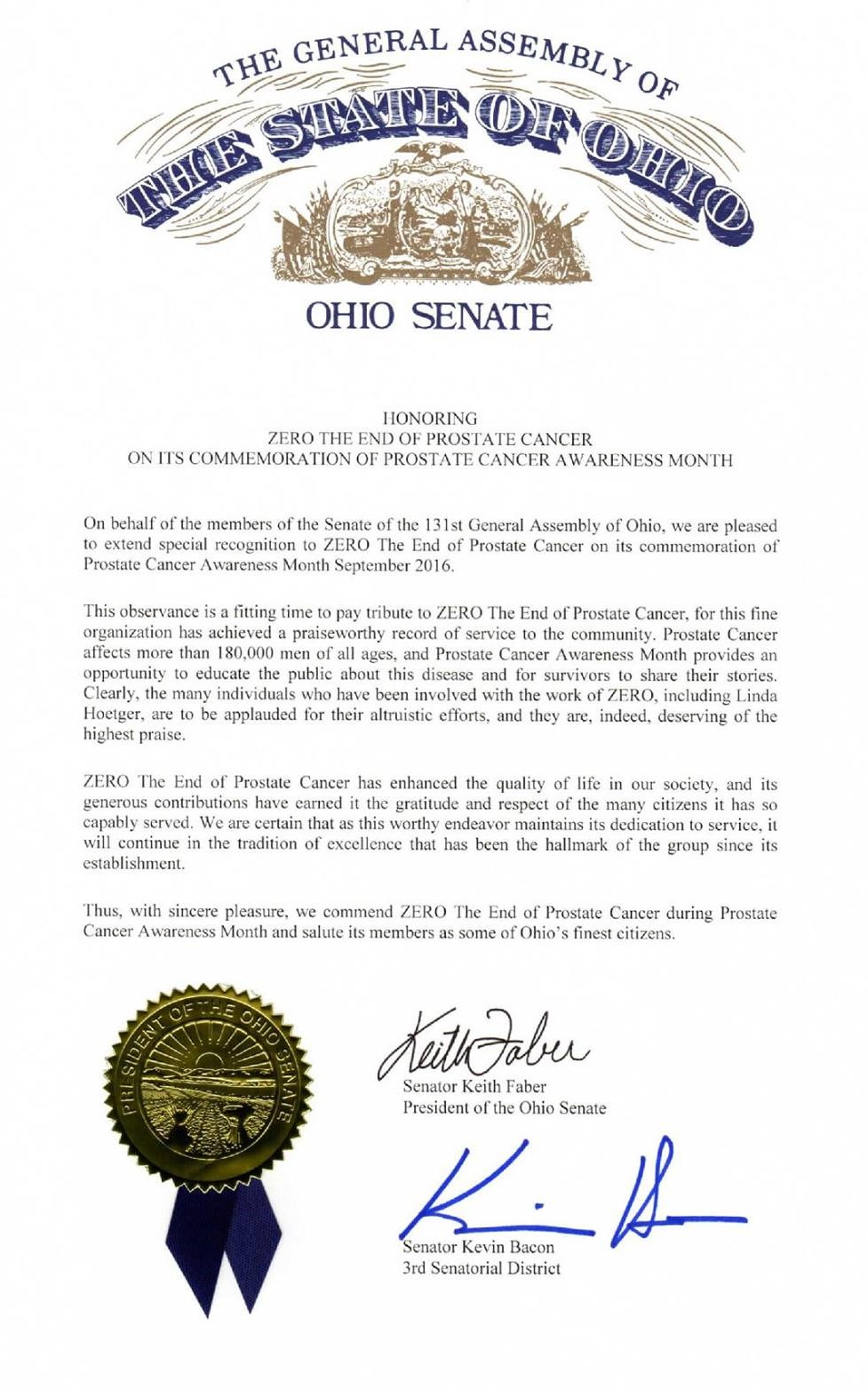 The General Assembly Of The State Of Ohio