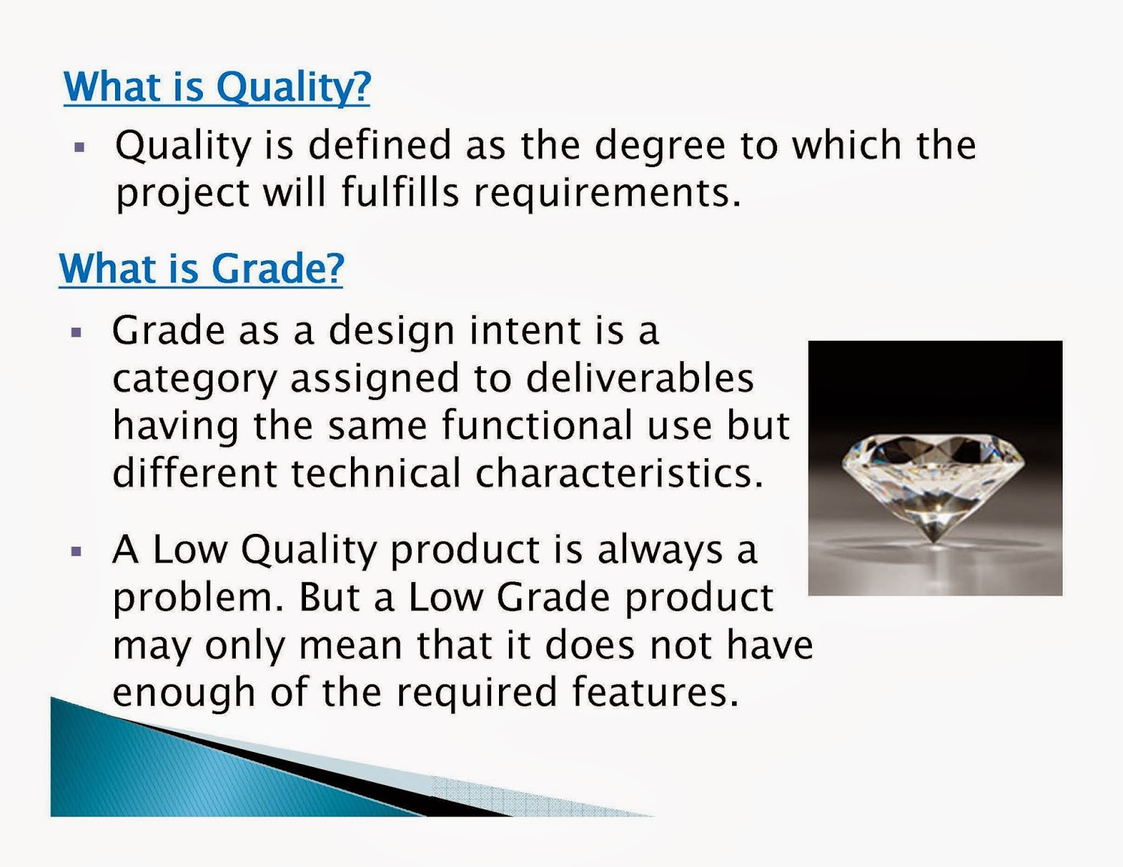 quality management project Definition total quality management (tqm) is a popular customer-based methodology of quality control and improvement derived from japanese industry since the 1950's.