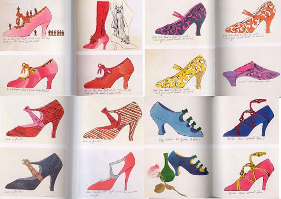 andy warhol scarpe