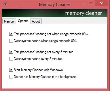 ����� ����� ��� ������� ��� ���� ����� �� ������ Memory Cleaner 2014