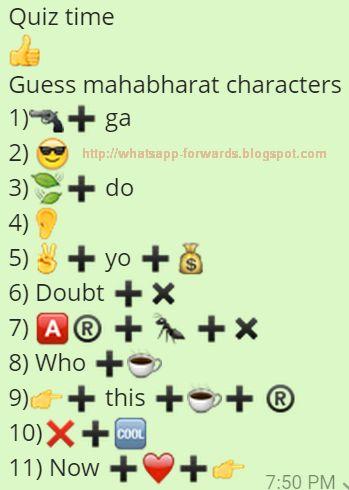 Guess Mahabharat Characters