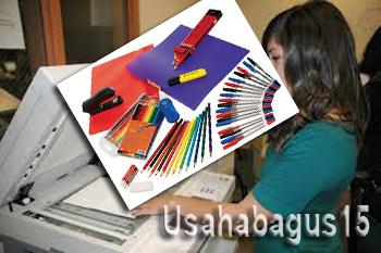 Membuka perjuangan jasa fotokopi serta menjual peralatan alat tulis kantor yang sering disingka Peluang Usaha Fotokopi Dan Alat Tulis