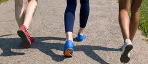Quemar calorías caminando