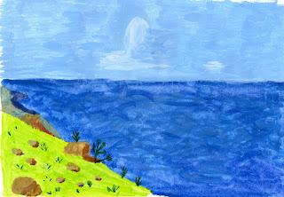 Рисую акварелью