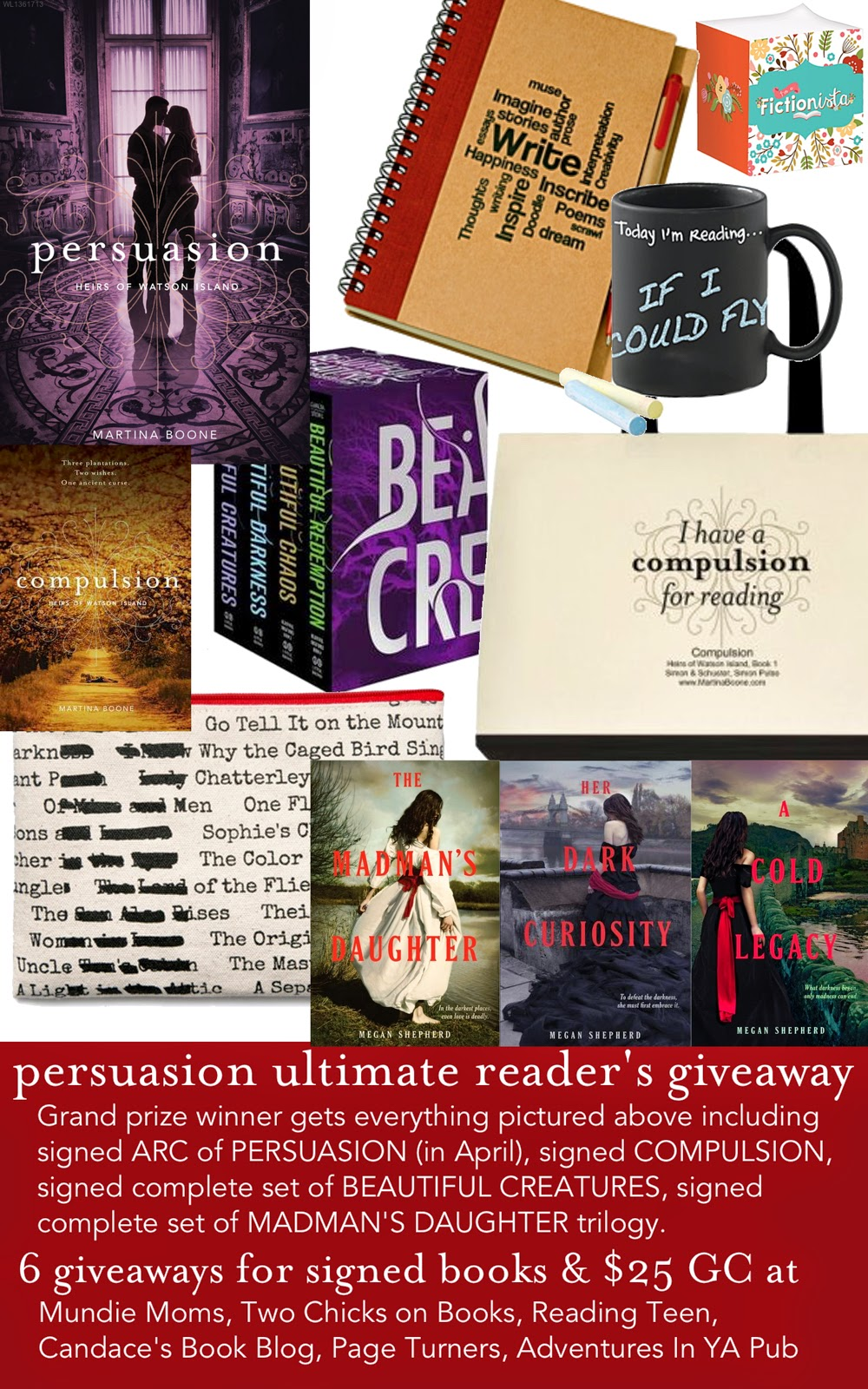 Ultimate Reader's Giveaway