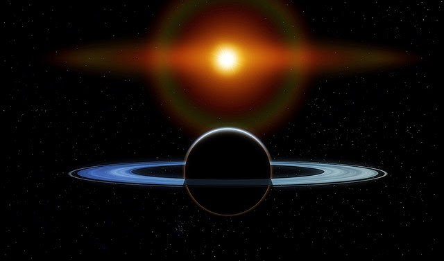 Destiny Connected by Sun and Saturn