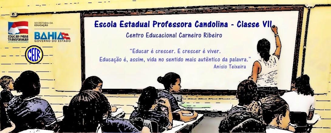 CECR - Escola Estadual Professora Candolina/CLASSE VII