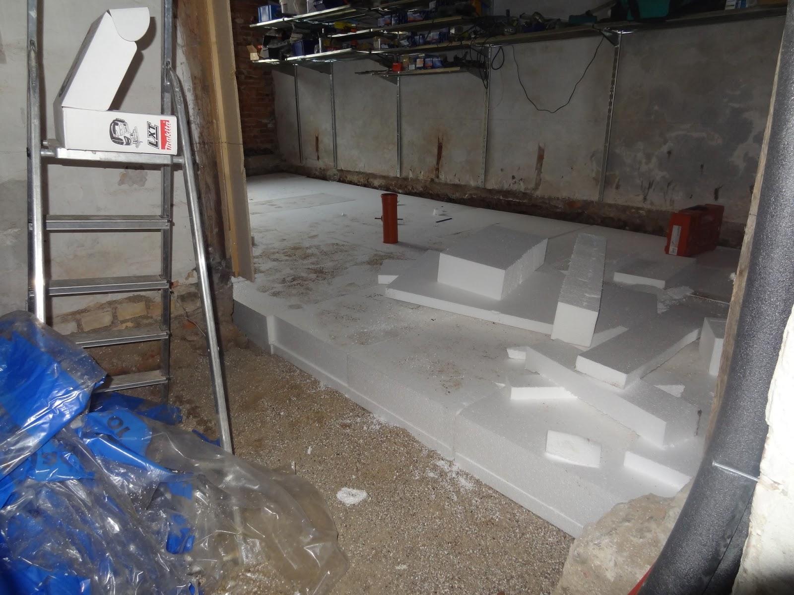 opbygning af gulv til gulvvarme