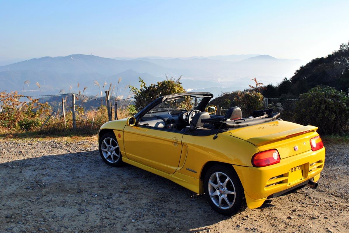 Honda Beat, kei car, roadster, samochody z małymi silnikami, usportowione auta, motoryzacja z lat 90, ciekawe modele