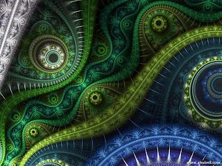 3d fractal wallpaper