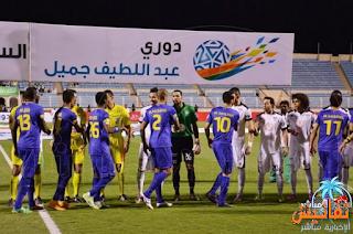 بث مباشر مباراة النصر وهجر اليوم الجمعة 6-11-1436